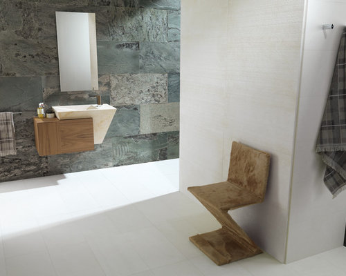 Natural Stone Bathroom | Houzz