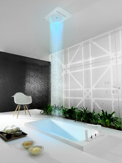 Contemporain Salle de Bain Contemporary Bathroom