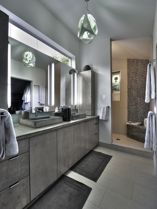Wash basin cabinet houzz - Bathroom cabinets kerala ...
