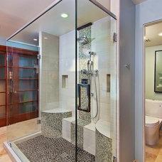 Contemporary Bathroom by Elle Interiors, Ellinor Ellefson