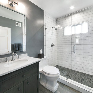 Contemporary bathroom remodeling Temple city