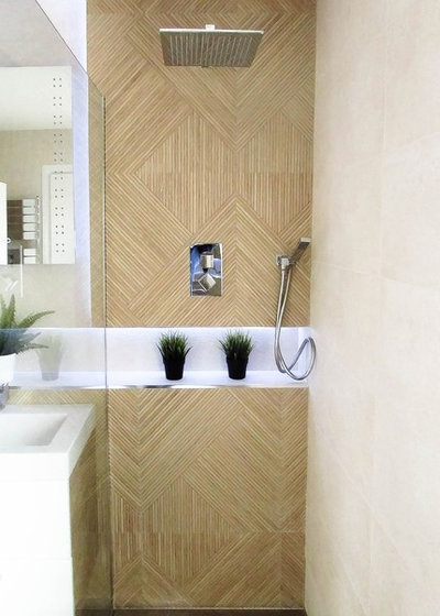 Contemporary Bathroom by AlenaCDesign