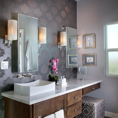 contemporary bathroom by Reveal Studio