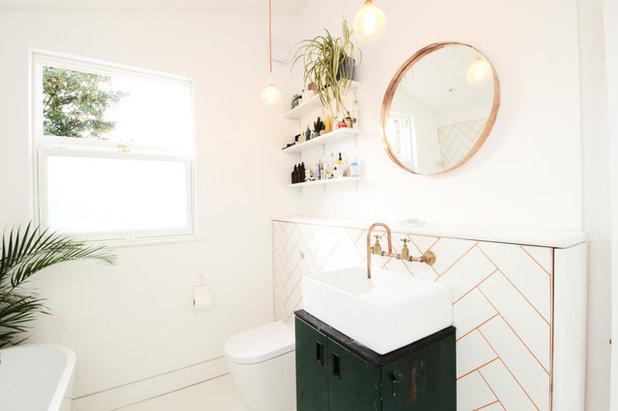 コンテンポラリー 浴室 Contemporary Bathroom