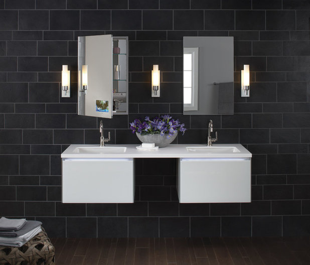 Современный Ванная комната Contemporary Bathroom