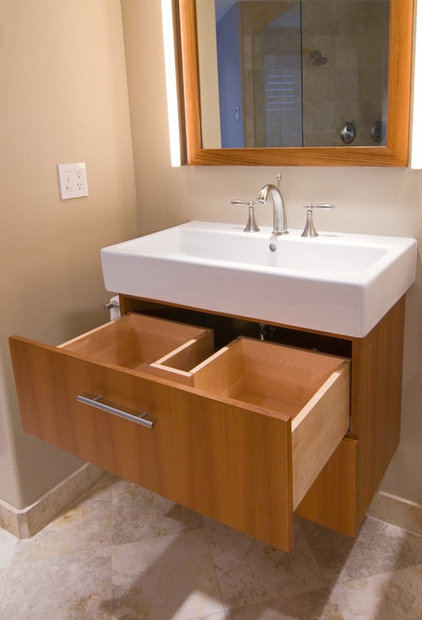 Contemporary Bathroom by Rockwood Cabinetry
