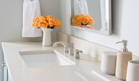 What Are The Best Surfaces For Bathroom Countertops?