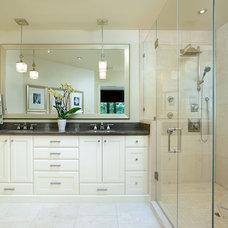 Contemporary Bathroom by Sarah St. Amand Interior Design