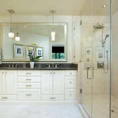 contemporary bathroom by Sarah St. Amand Interior Design - Brantford, Ont.