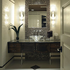 contemporary bathroom by Savvy Surrounding Style