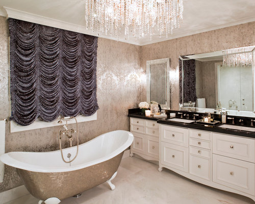 SaveEmail  Contemporary Bathroom. Glam Bathroom Ideas  Pictures  Remodel and Decor
