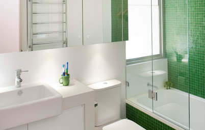 Try These 6 Verdant Greens for a Fresh, Fabulous Bathroom