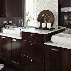 Contemporary Bathroom by Studio41 Home Design Showroom | Highland Park