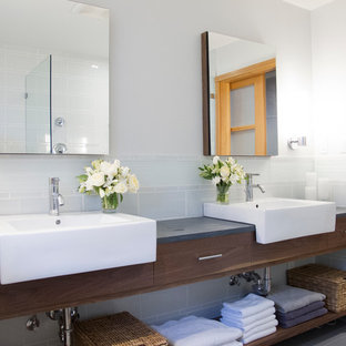 75 beautiful glass tile bathroom pictures & ideas | houzz