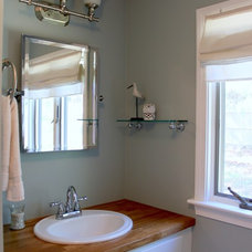 Contemporary Bathroom by The Property Sisters