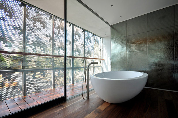 Contemporain Salle de Bain by Threefold Architects