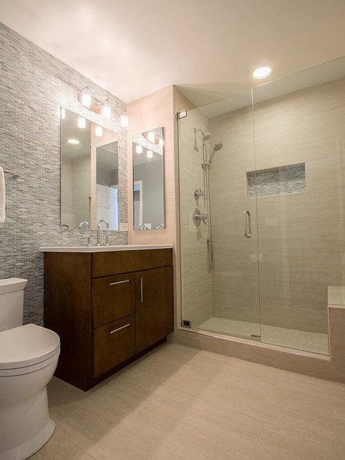 Grey Beige Sofa Bathroom Design Ideas Renovations