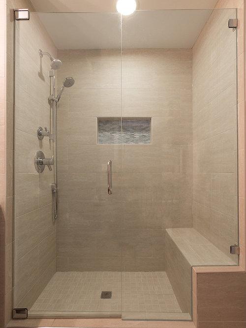 Top 28 vinyl flooring for shower walls grey beige for Grey and beige bathroom ideas