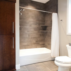 Contemporary Bathroom by Tracy Herbert Interiors, LLC