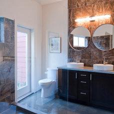 Contemporary Bathroom by Urban Improvement Company