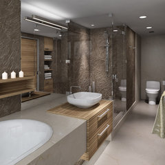 contemporary bathroom by Vadim Kadoshnikov