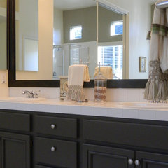 contemporary bathroom by Ventura County Home Staging