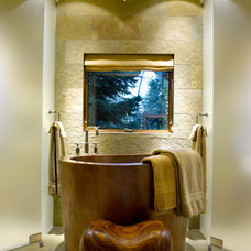 Contemporary Bathroom by Ward-Young Architecture & Planning - Truckee, CA