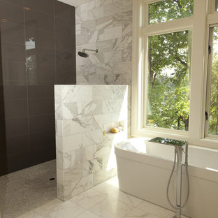 Inspiration for a contemporary bathroom remodel in Portland