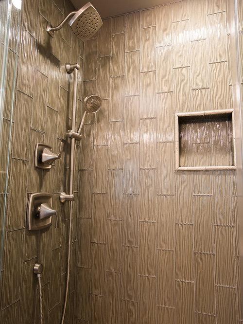 Contemporary Bathroom With Rustic Feel