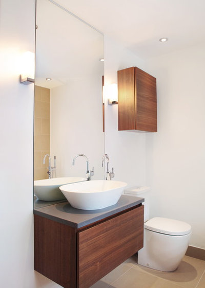 Contemporary Bathroom by Design A Space kitchens, bedrooms & interiors