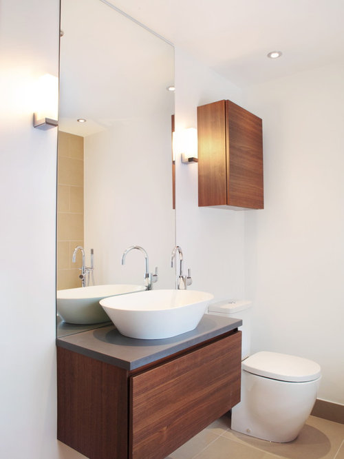 Small bathroom vanity houzz for Small bathroom vanity ideas