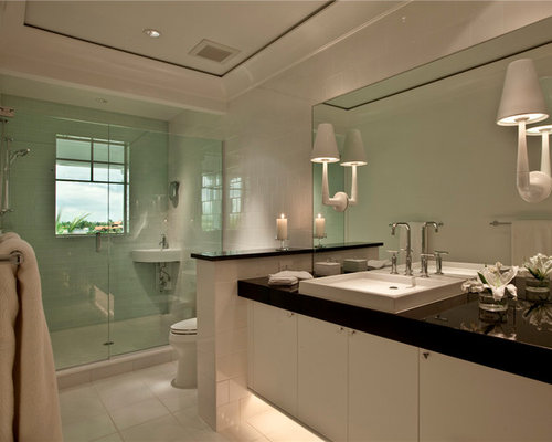 Bathroom Design Ideas Renovations amp Photos With A Walk in