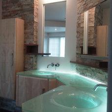 Contemporary Bathroom by Bryce and Doyle Craftsmanship