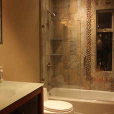 Contemporary Bathroom by Howard Hvid