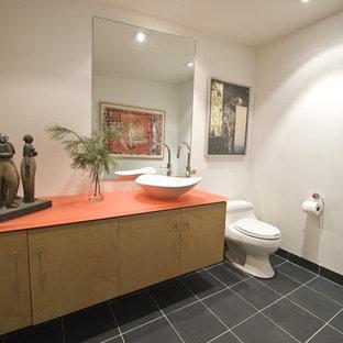 Minimalist bathroom photo in Philadelphia