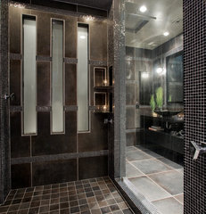 contemporary bathroom by Chris Jovanelly Interior Design