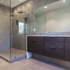 Cliffside Drive Contemporary Bathroom Los Angeles