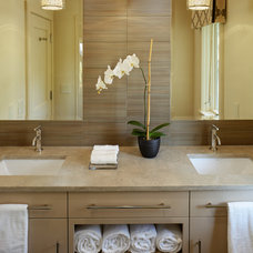 Contemporary Bathroom by K & K Custom Cabinets LLC