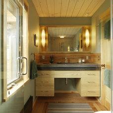 Contemporary Bathroom by Cushman Design Group