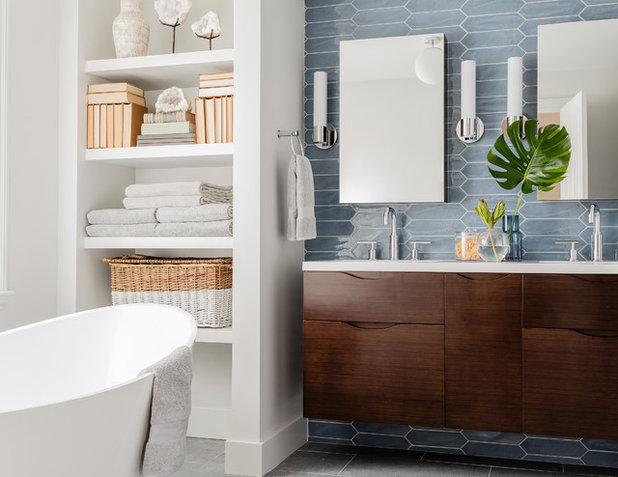 Современный Ванная комната by Carpenter & MacNeille