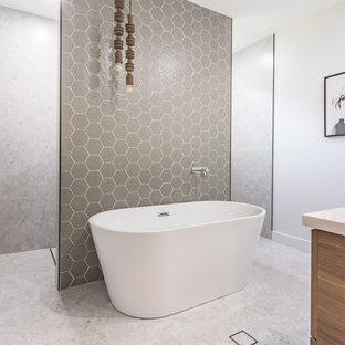 75 Terrazzo Floor Bathroom Design Ideas & Remodeling Pictures That ...