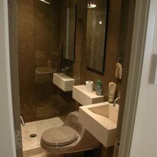 Modern Bathroom by Jill Jordan