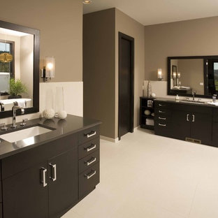 Inspiration for a contemporary bathroom remodel in Seattle