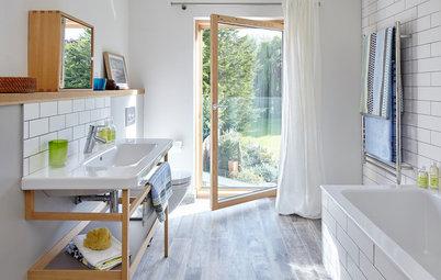 Standardbadrummet blir sexigt med naturmaterial
