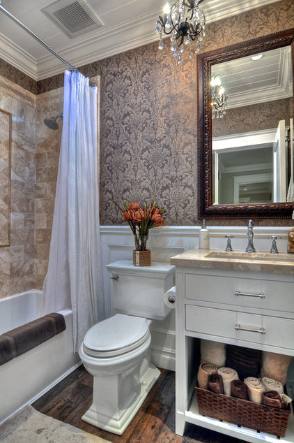 Traditional Bathroom by JDL Construction