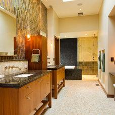 Contemporary Bathroom by Kirsti Wolfe Designs