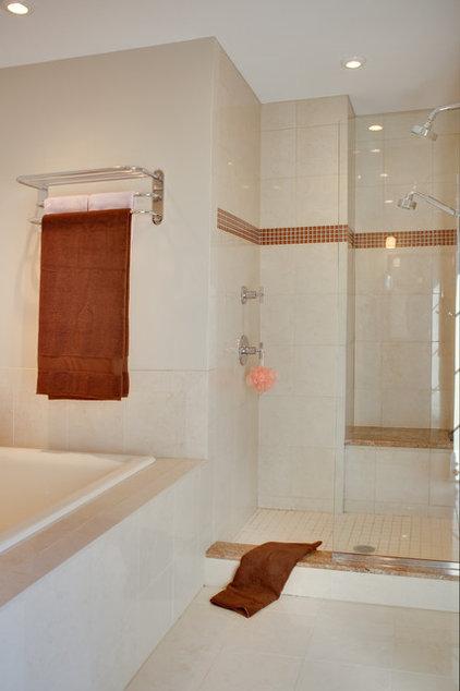 Contemporary Bathroom by Audrey Kerchner
