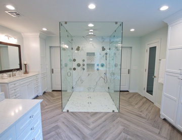 Contemporary Dream Master Bath