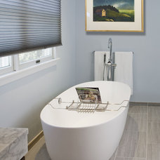 Eclectic Bathroom by HomeTech Renovations, Inc.