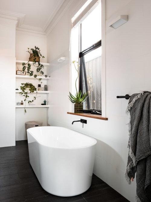 Große Skandinavische Badezimmer: Design-ideen & Beispiele Für Die ... Skandinavische Badezimmer